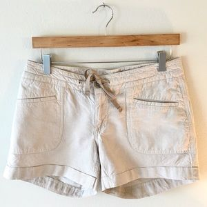 THE NORTH FACE Draw String Shorts Linen Blend